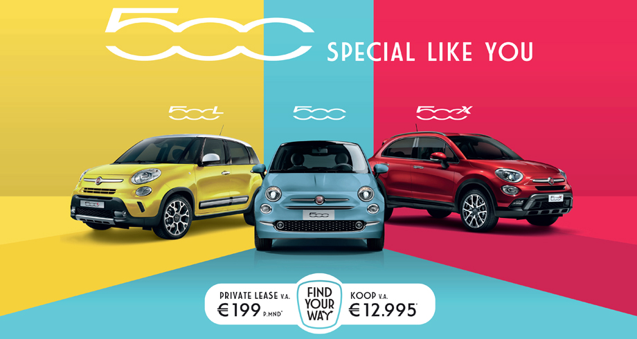 Fiat 500 – Special like you